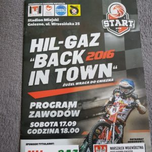 start gniezno zuzel HIL-GAZ back in town